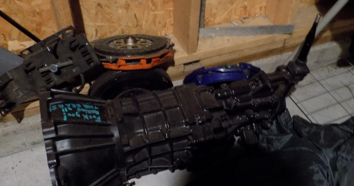 mk4 transmission swap