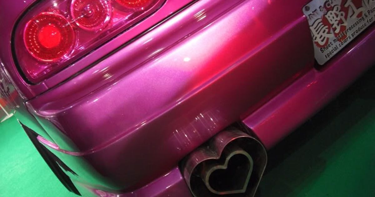 A Love Heart Exhaust For Valentines
