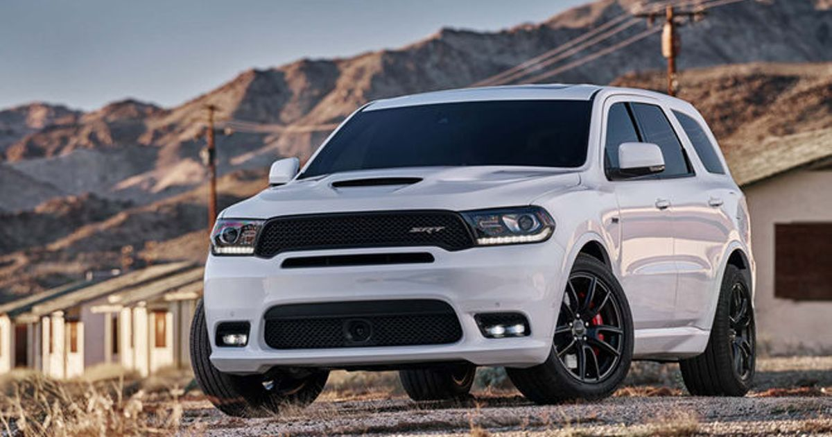 dodge announces 39 murica 39 s fastest three row suv with six seat durango srt car throttle. Black Bedroom Furniture Sets. Home Design Ideas