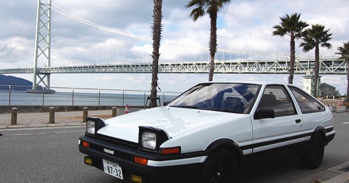 How Bout An AE86 Trueno For A Wallpaper