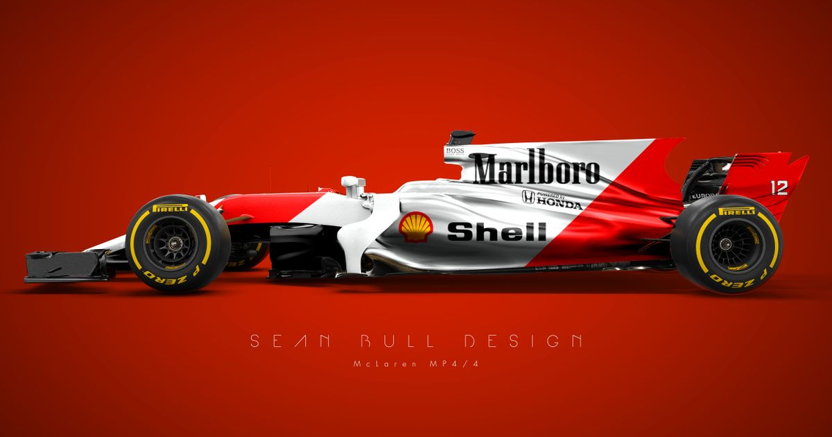 These Famous F1 Liveries Look Incredible On A 2017 Car