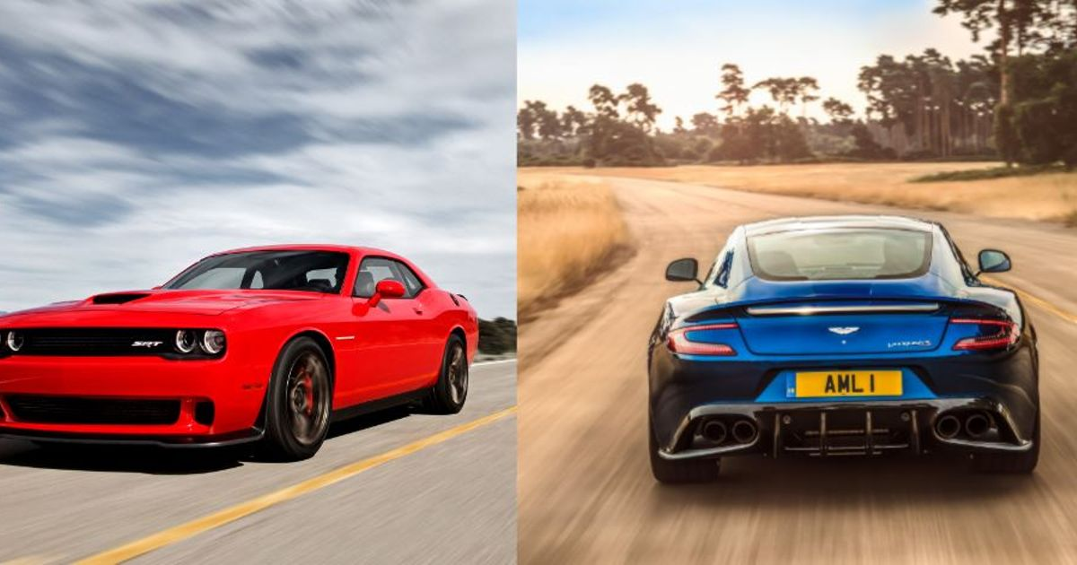 Uk Vs Usa Power Quiz Can You Pick Out The More Powerful Car