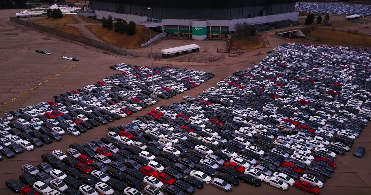 This Aerial Video Puts The Scale Of Vw S Buyback Scheme