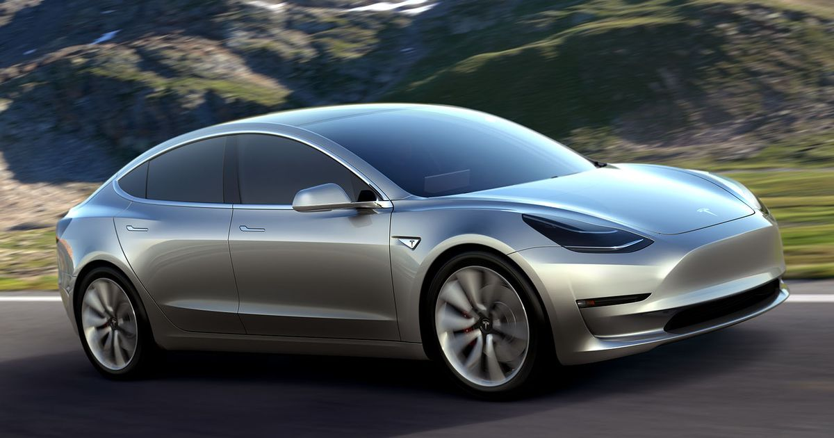 The Tesla Model 3 Has Just One Display, And It s Not In Front Of The Driver