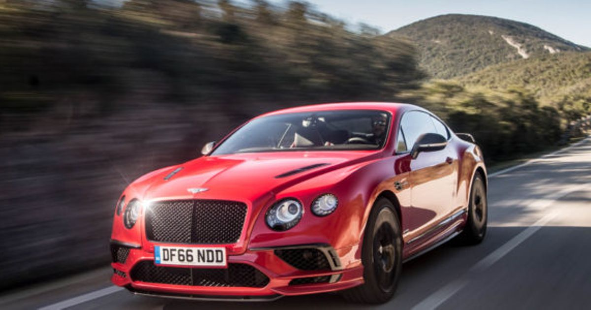 2018 Bentley Continental Supersports Price