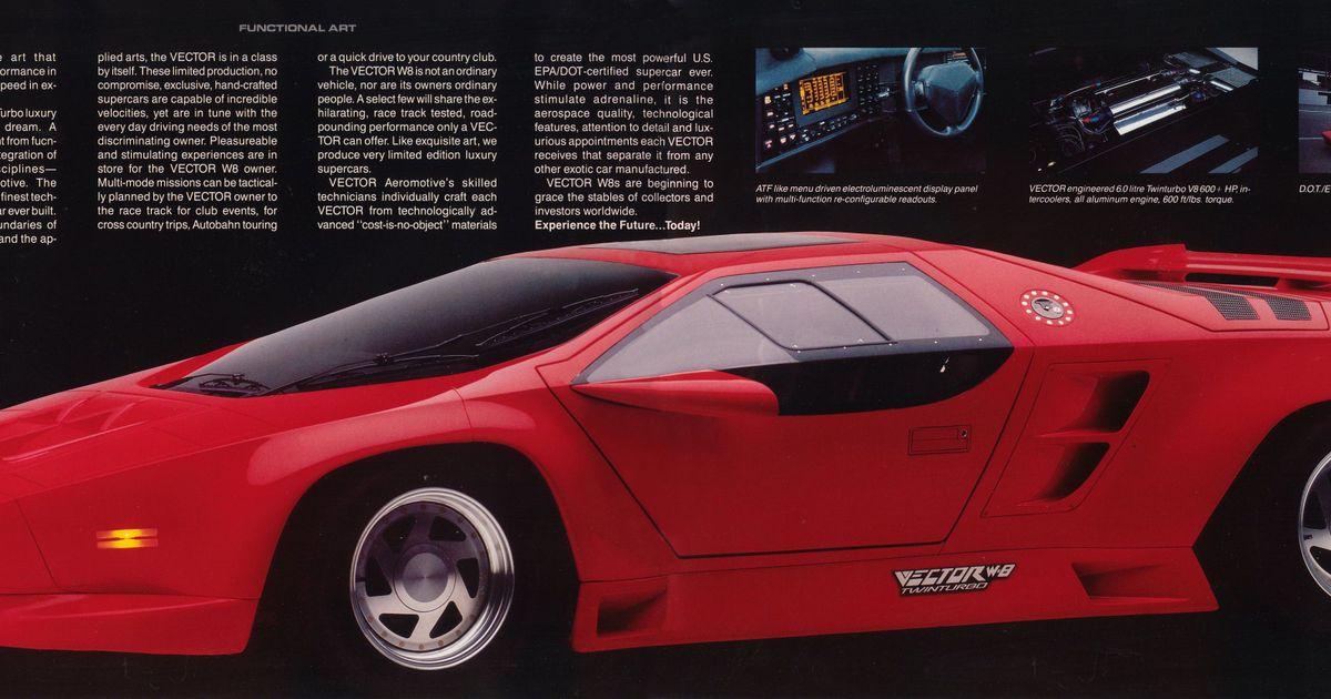 Retro Performance Built To Last - Vector W8