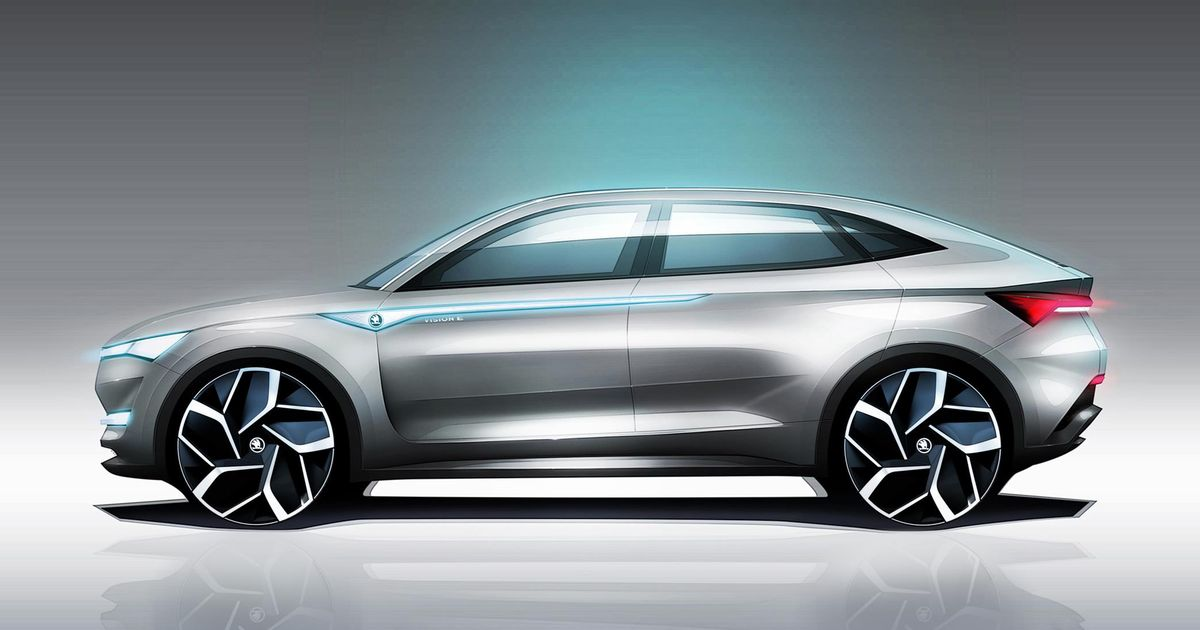Skoda S New Suv Concept Is An All Electric Twin Motor