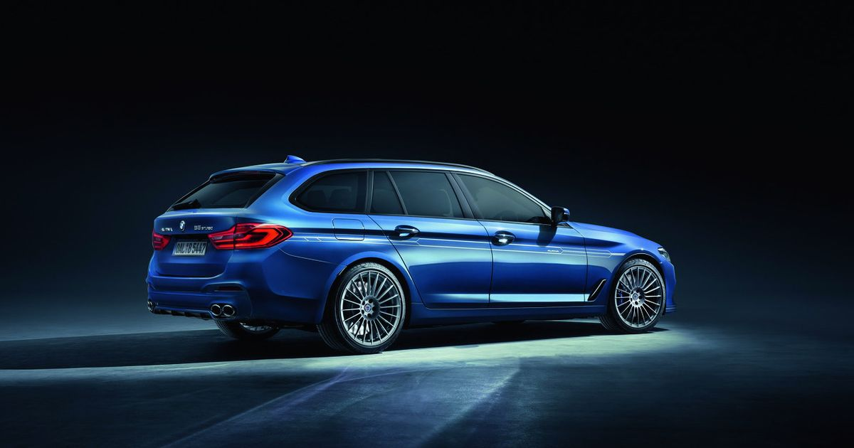 The 205mph Alpina B5 Touring Is The M5 Wagon BMW Won't Make