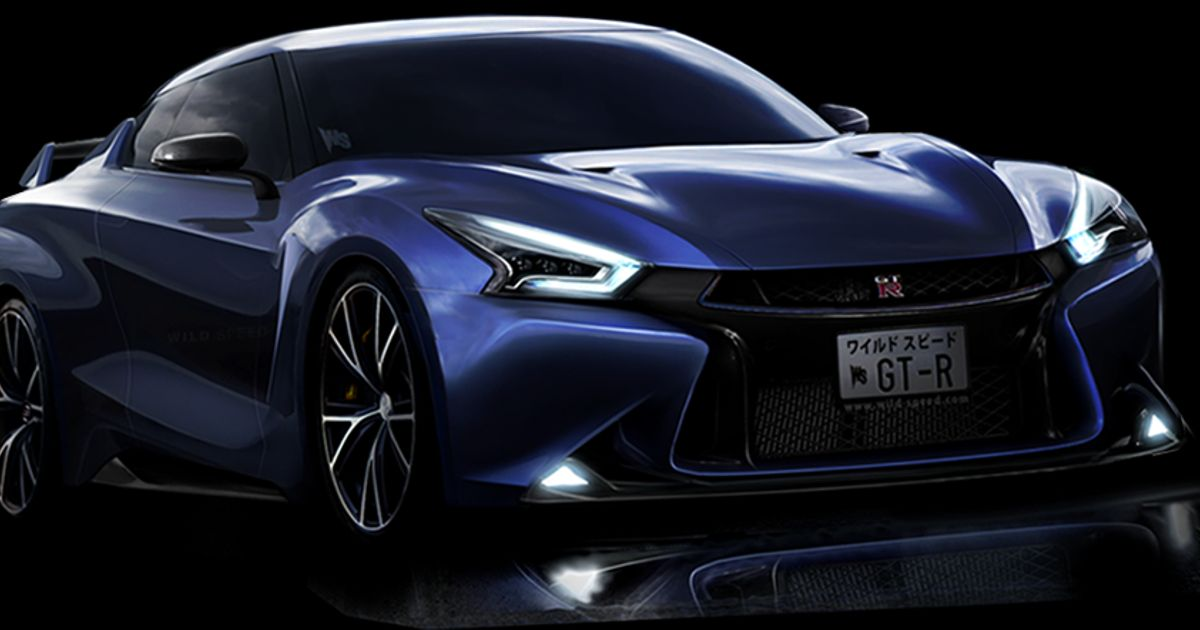 a new concept car from the nissan gtr r36 do you like it. Black Bedroom Furniture Sets. Home Design Ideas