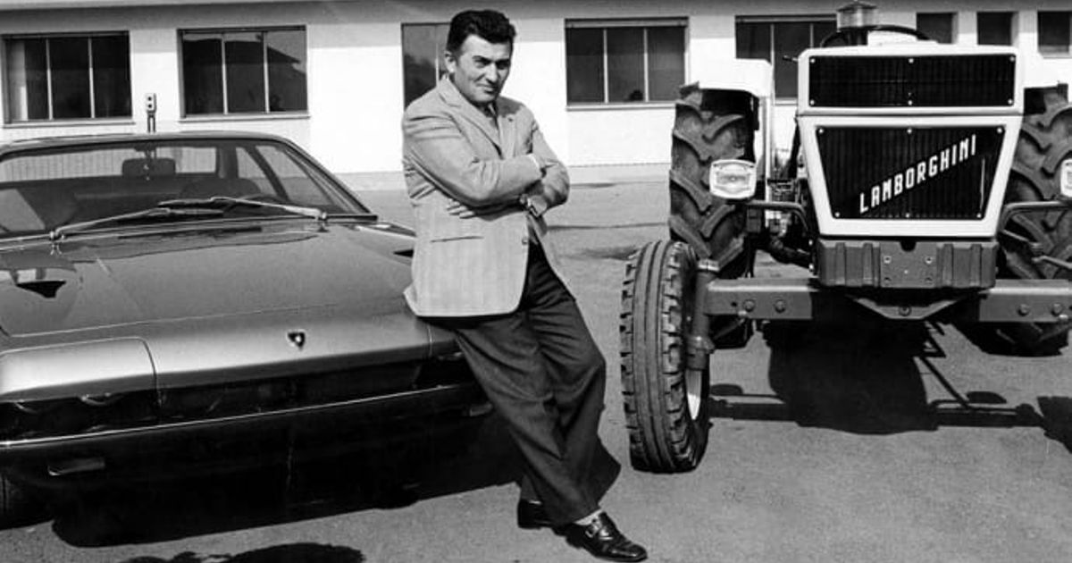 The Argument Worth 1 8 Billion The Story Of Ferrucio Lamborghini