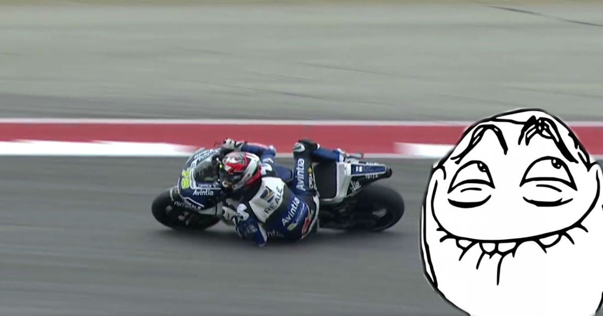 Watch This MotoGP Rider Pull Off A Crazy Save.... : Car Throttle - howlDb