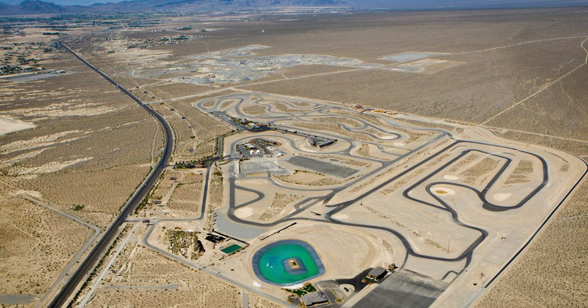 One Of The Longest Race Tracks In The World Is Coming To Vegas