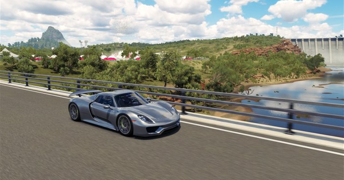 My Porsche 918 In Forza Horizon 3