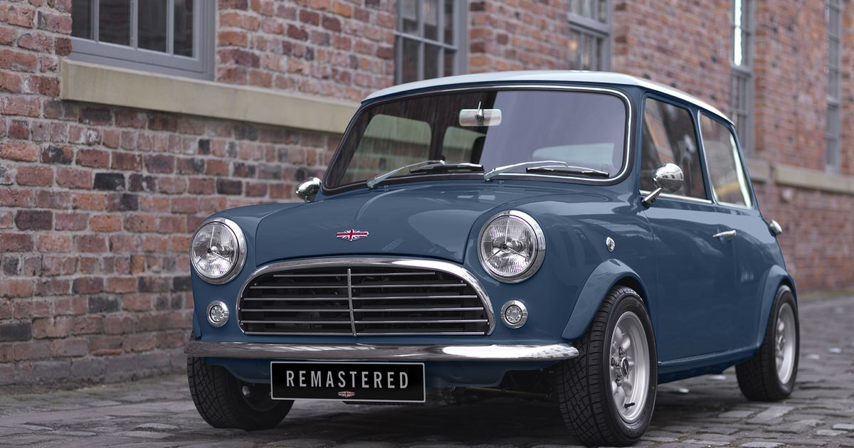 the classic mini has been remastered with new engines and tech. Black Bedroom Furniture Sets. Home Design Ideas