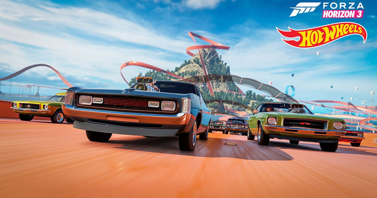 hot wheels racing is coming to forza horizon 3. Black Bedroom Furniture Sets. Home Design Ideas