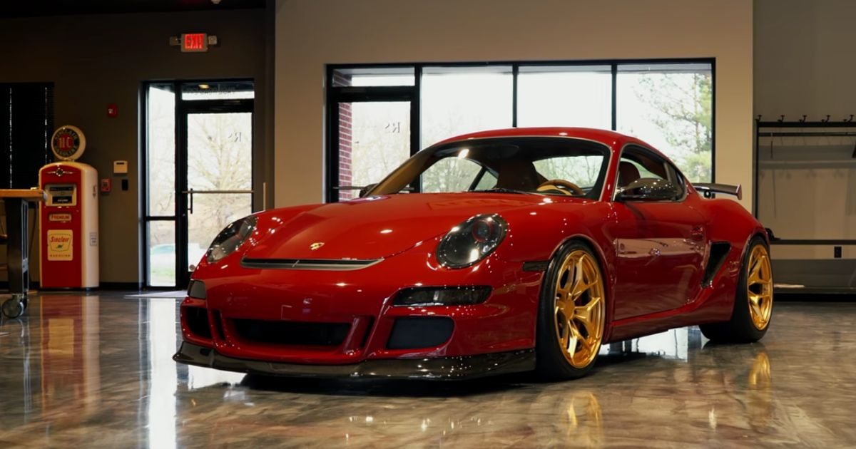 someone 39 s made a porsche cayman 39 gtr 39 and it 39 s stunning. Black Bedroom Furniture Sets. Home Design Ideas