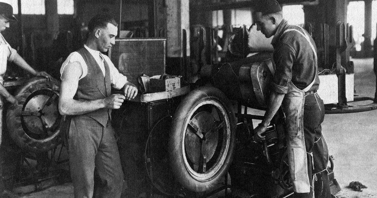 Used Tires Akron Ohio >> April 5, 1923 - Firestone Tire and Rubber Company of Akron ...