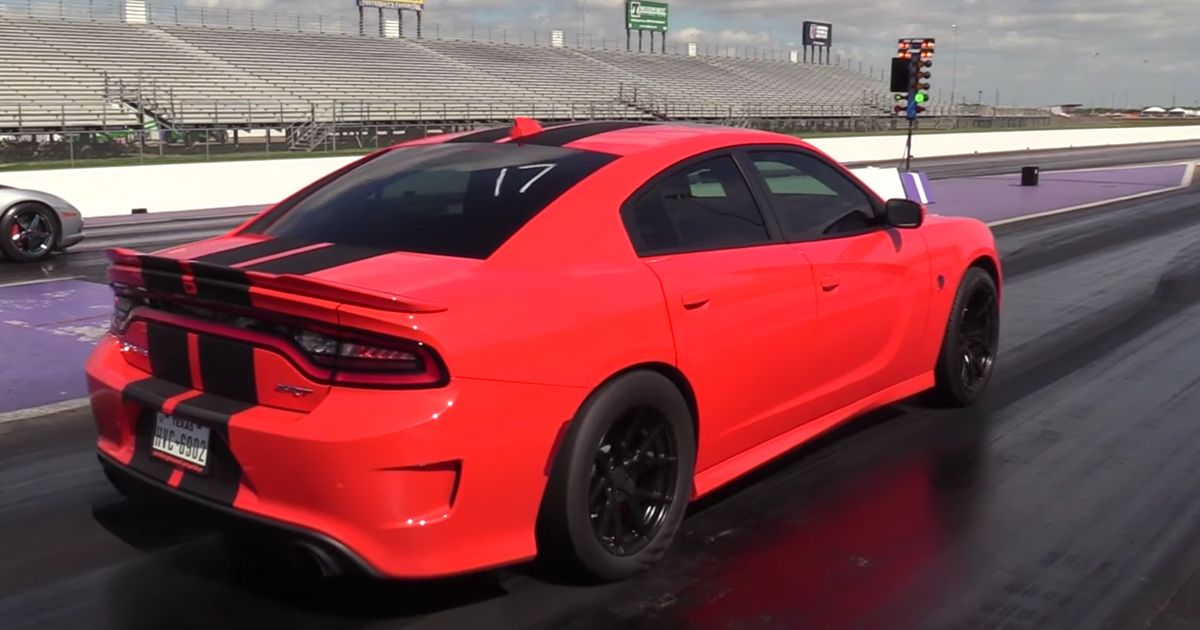 This 9sec Hellcat Is Like The Charger Srt Demon Dodge Never Made