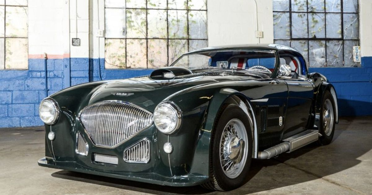 Check Out This Insane Modified 1954 Austin-Healey 100 BN1 ...
