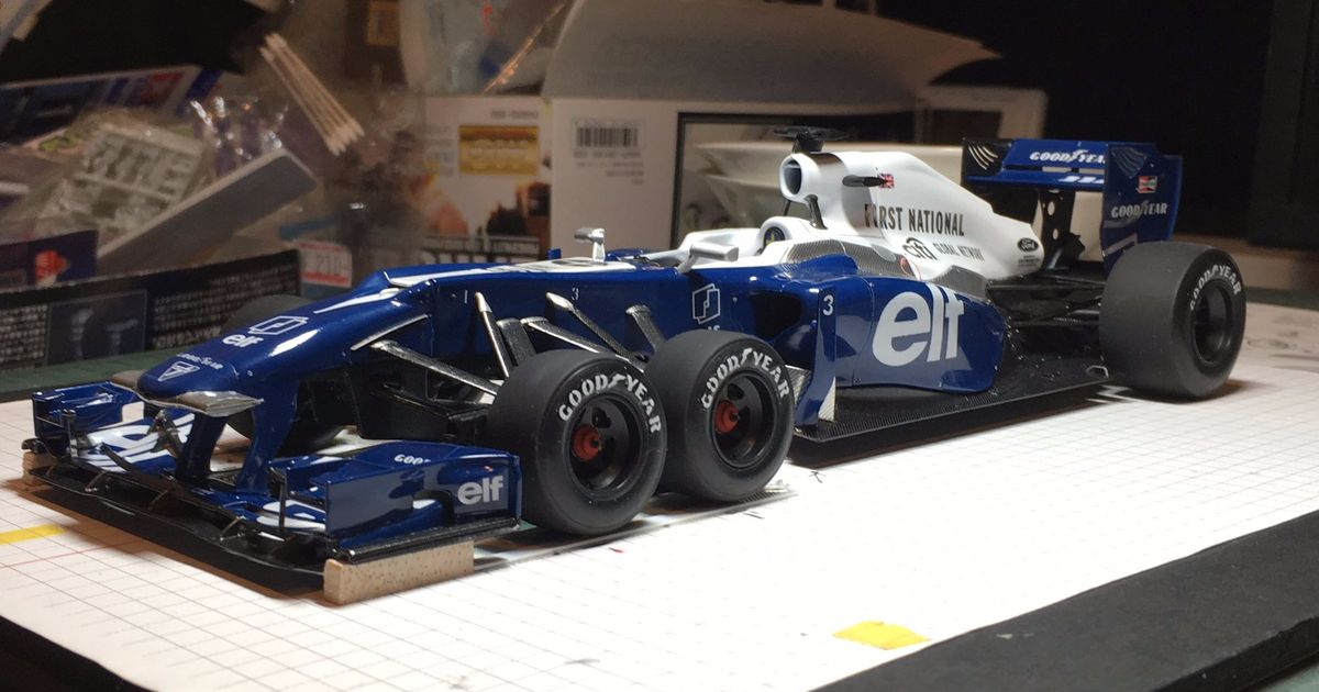 This Custom Model Of A Modern Tyrrell P34 Is Absolutely Amazing