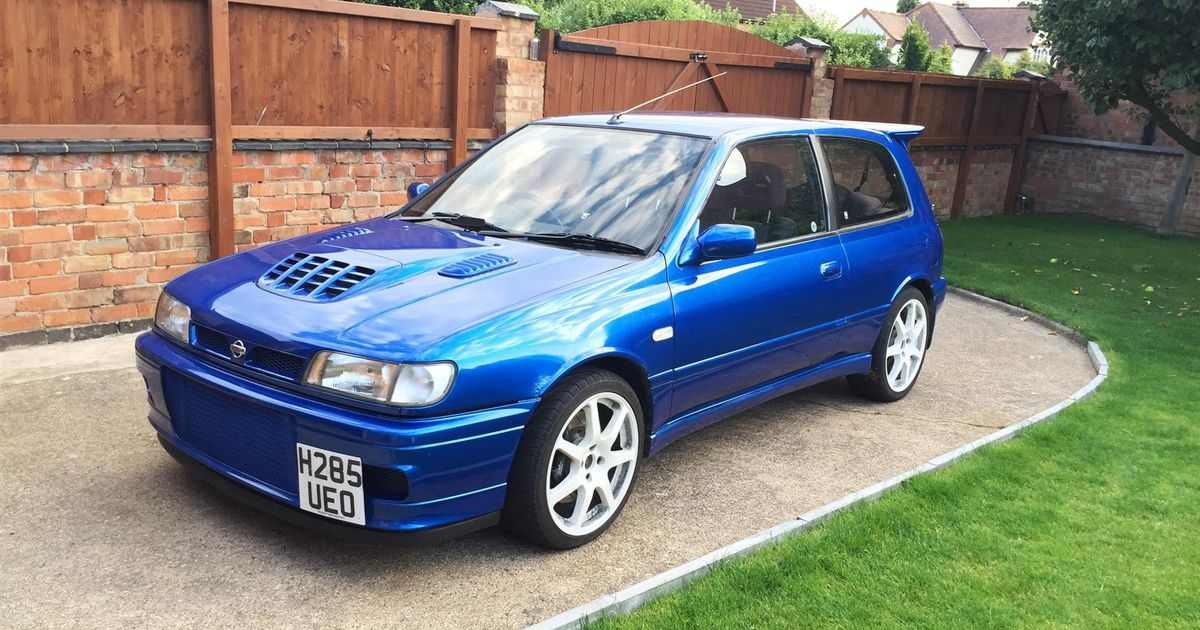 this 475bhp nissan pulsar gti r is an affordable way to chase supercars. Black Bedroom Furniture Sets. Home Design Ideas