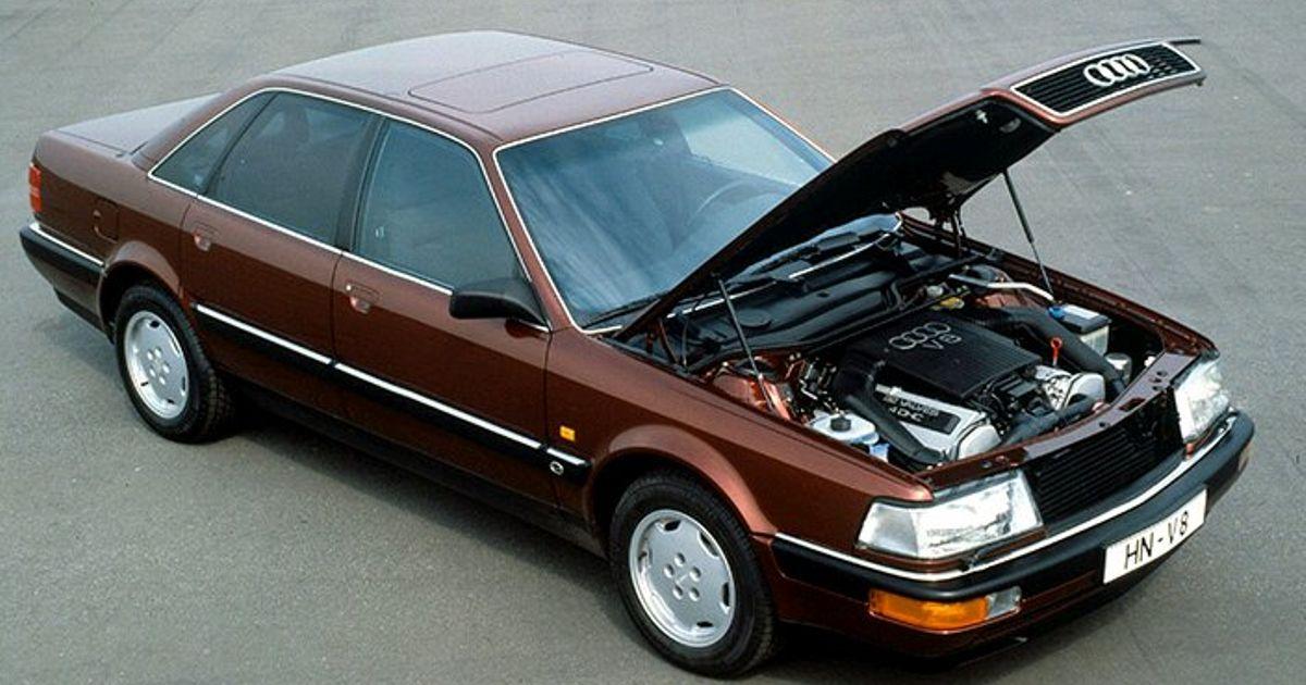 ≈1988 Audi V8 (Read the full post)