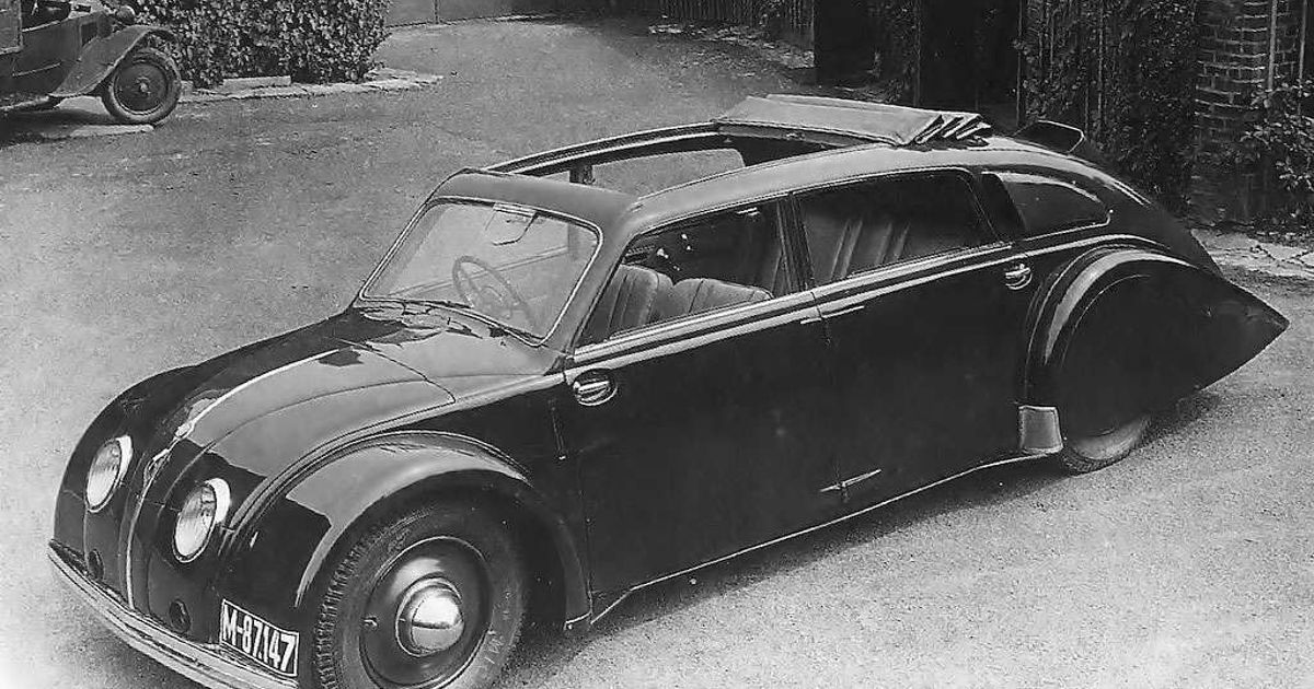 The World S First Quot Modern Quot Car The Tatra 77 77a