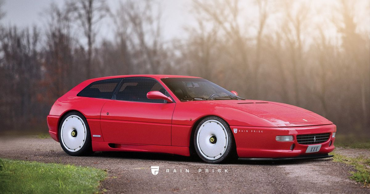 Someone s Imagined A 1990s Ferrari FF, And It s Gorgeous