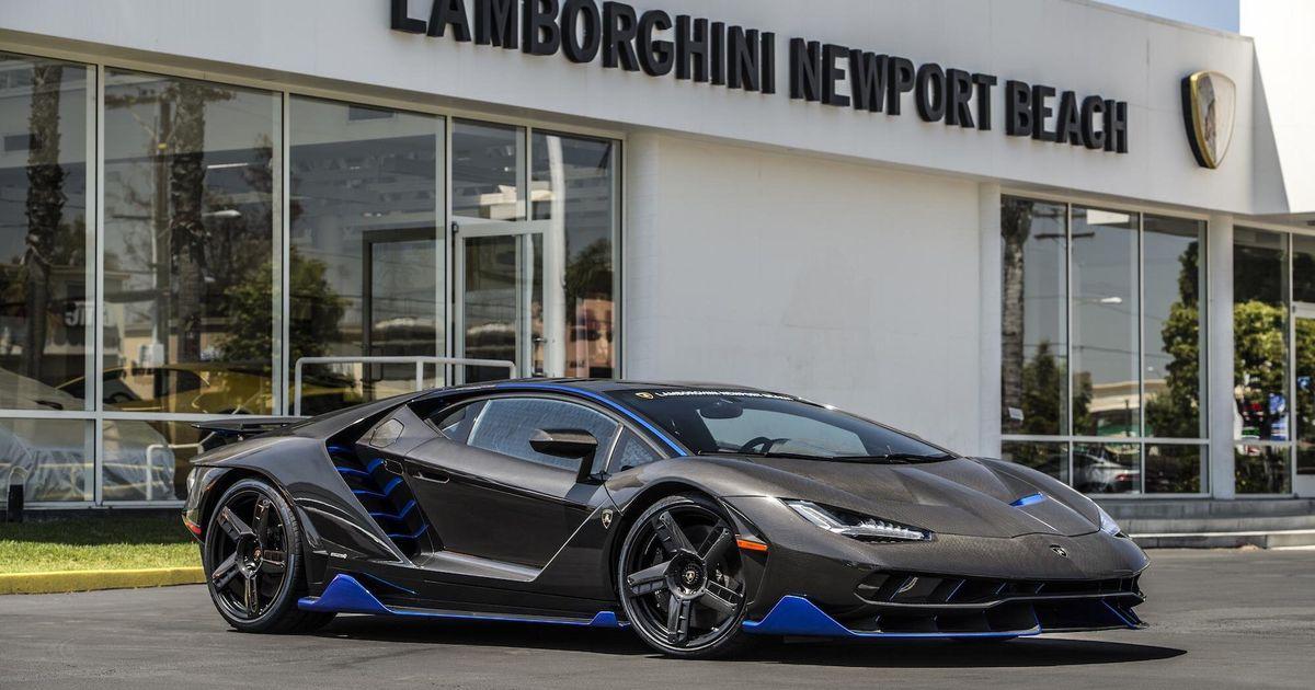 Photos Of The First Us Spec Lamborghini Centenario