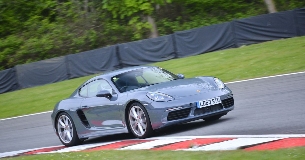 A Tour Of British Racetracks In A Porsche 718 Warning