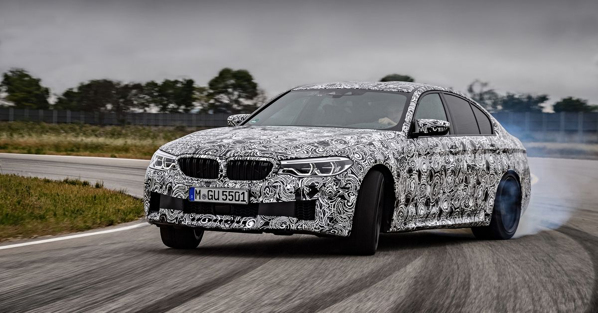 The New Faster BMW M Will Have Fully Switchable FourWheel Drive - 4 wheel drive bmw
