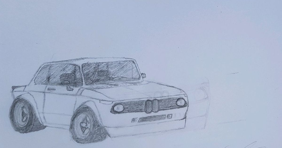 Bmw 2002 Turbo Anyone Got Some Tips About Drawing Wheels