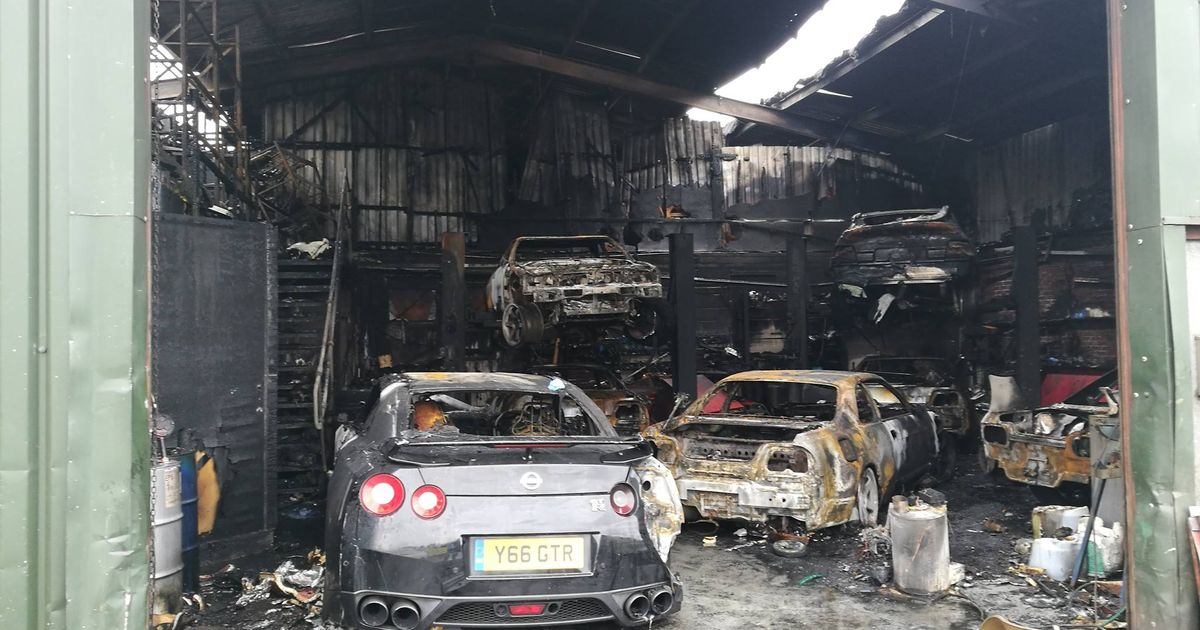 Workshop Full Of Skylines Burned To The Ground In Devastating Fire