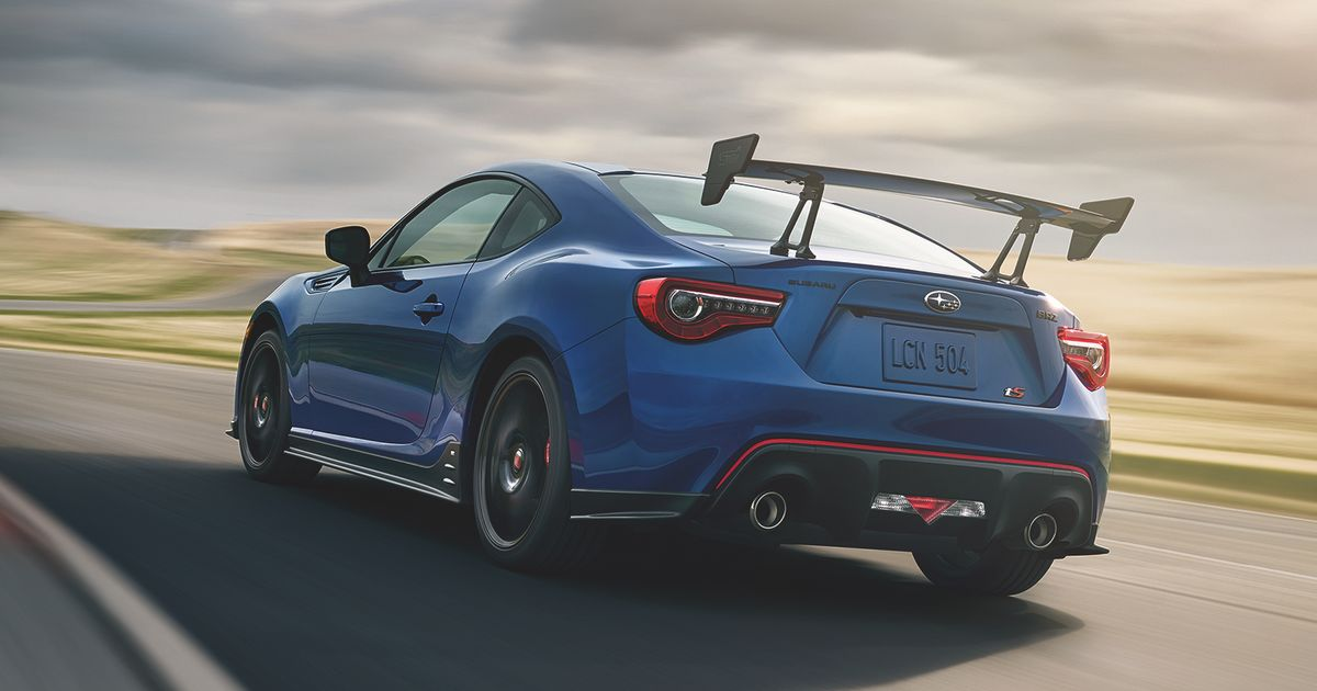 The New Subaru BRZ tS Is Here, And It's Brought Along A WRX STI RA Friend