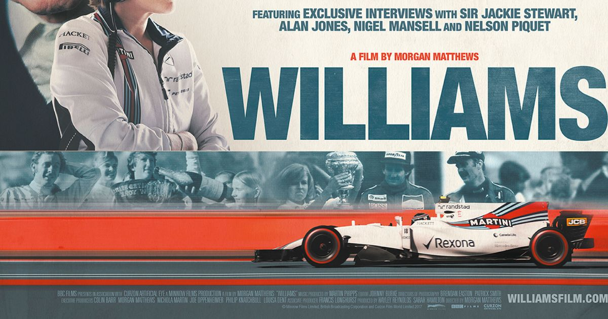 A Williams F1 Film Is Coming To Cinemas This Summer