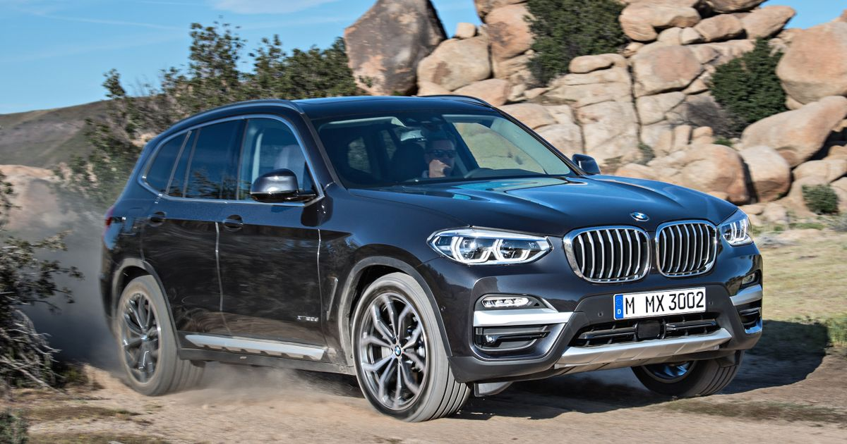 say hello to the new bmw x3 and its massive front grille. Black Bedroom Furniture Sets. Home Design Ideas