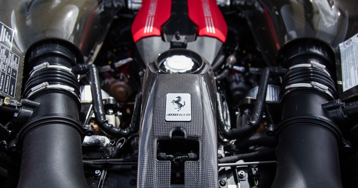 Celebrate Ferrari s Engine Of The Year Win With Glorious Exhaust Noise