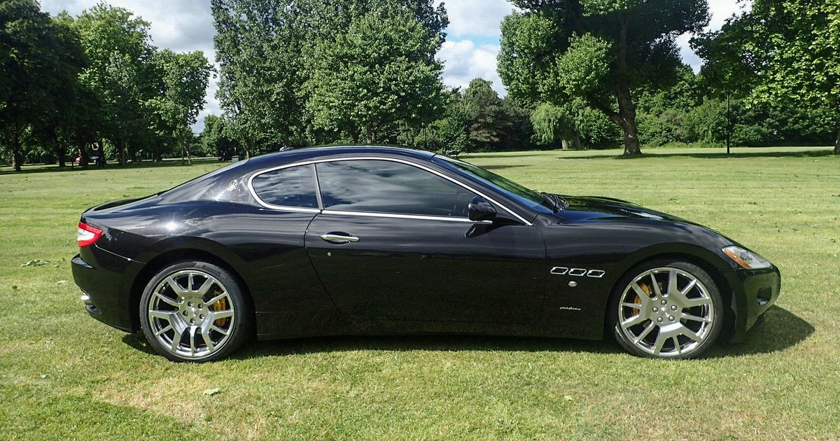 This Maserati GranTurismo Is Your Bargain Slice Of Timeless - Bargain sports cars