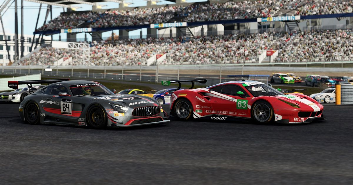 Here\'s The Full Car List For Project Cars 2
