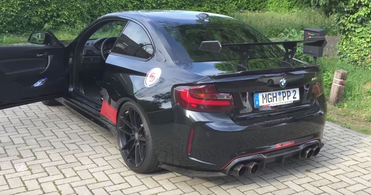 This Is What A De-Catted BMW M2 Sounds Like