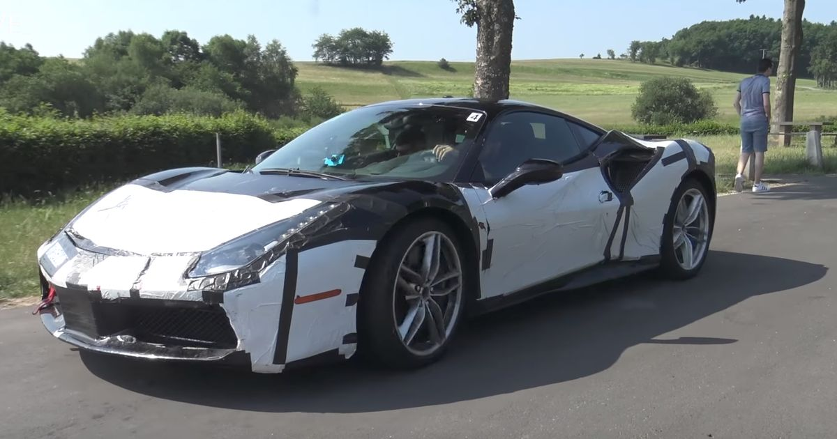 Is This Test Mule Something To Do With The Ferrari 488 Gto