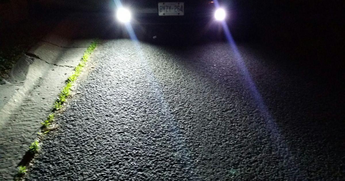 Subaru Vs Honda >> 4,000 Lumen LED Driving Lights vs 12,000 Lumen #LED vs Halogens