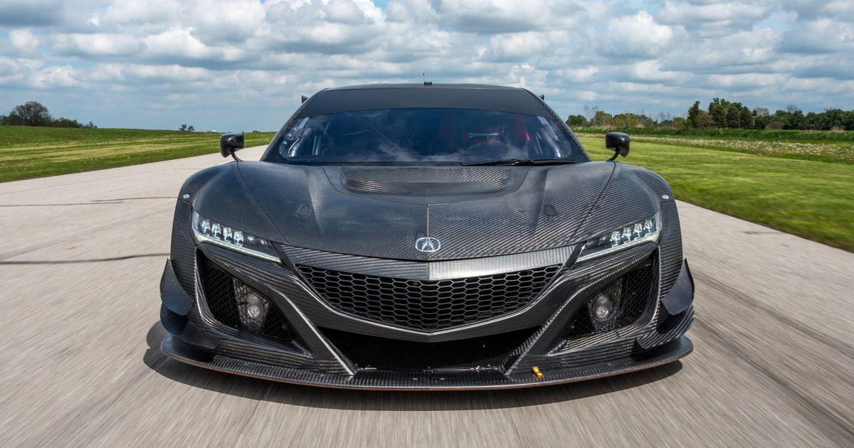 Do Everything You Can To Buy A Race-Spec Honda NSX