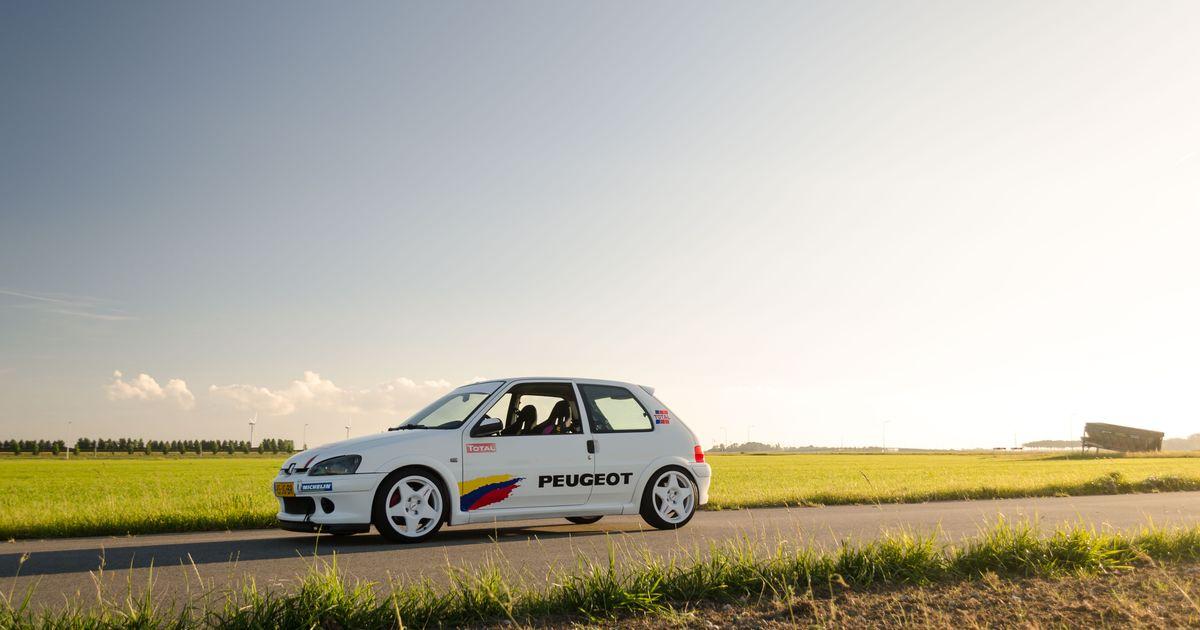 My New Peugeot 106 Rallye