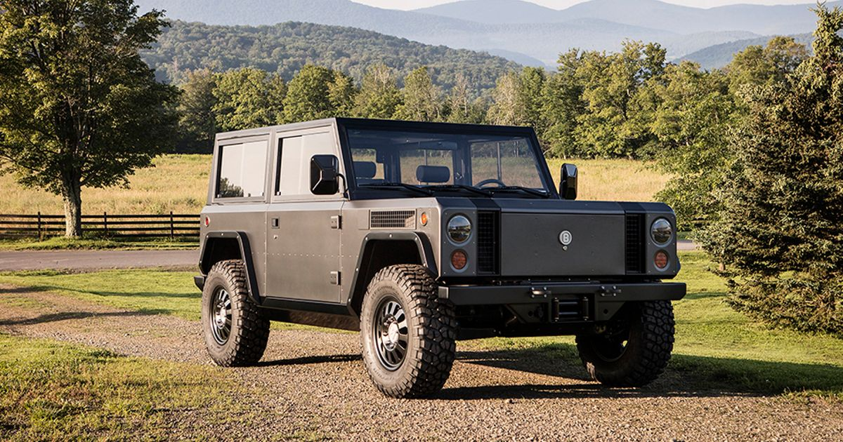 This Electric Off-Roader Could Replace The Land Rover Defender