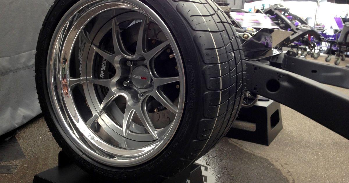 Detroit Speed S New C3 Corvette Chassis On Forgeline Ga3r