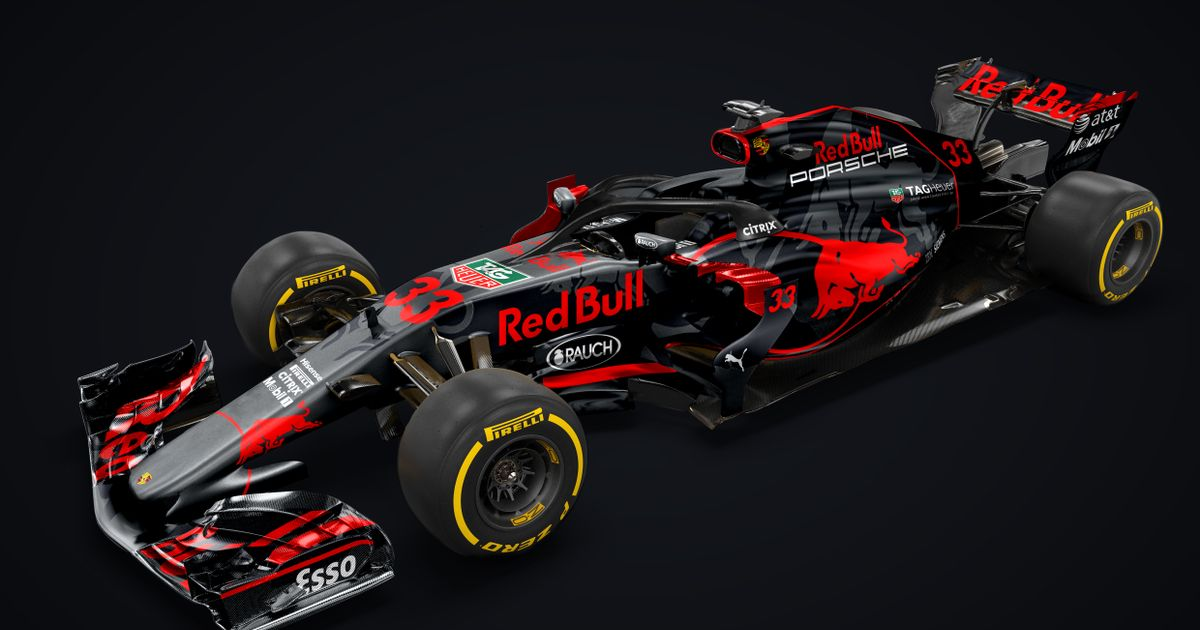 This Red Bull Porsche F1 Livery Concept Is Absolutely Stunning