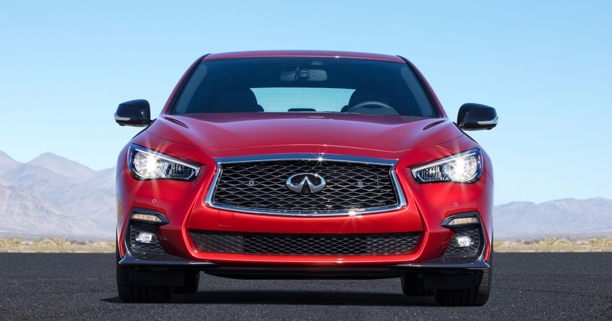 the infiniti q50 red sport 400 is the bargain m3 baiter. Black Bedroom Furniture Sets. Home Design Ideas
