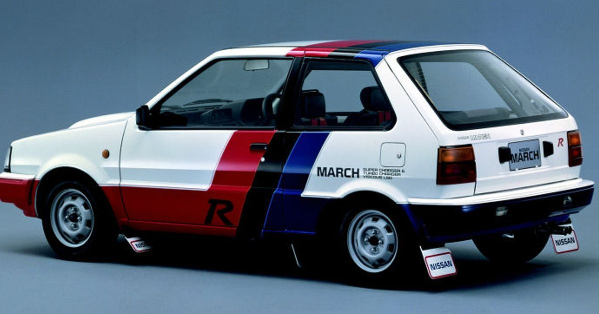 Interesting Cars 1 Nissan March Super Turbo