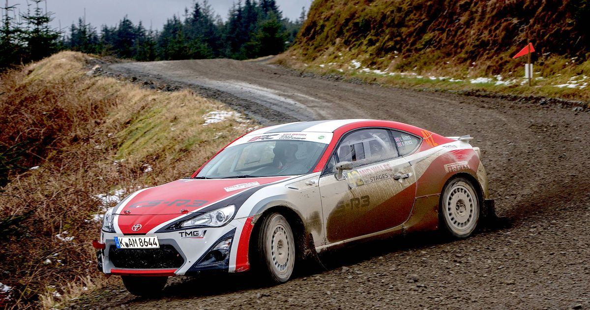 Jeffrey Garner Design Your Own Rally Gt86 Livery And It